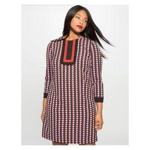 Eloquii Geometric Print Dress